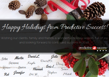 Happy Holidays from Predictive Success