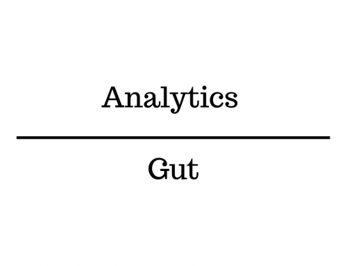 "63% of Business Executives say Analytics Overrule ""Gut Instinct"""