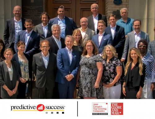 Predictive Success Named to Globe and MailCanada's Fastest Growing Company List