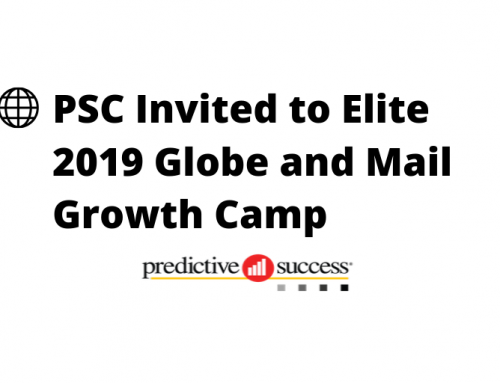 Predictive Success Invited to Elite Globe and Mail 2019 Growth Camp
