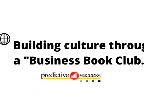 Building Culture Through a Business Book Club.