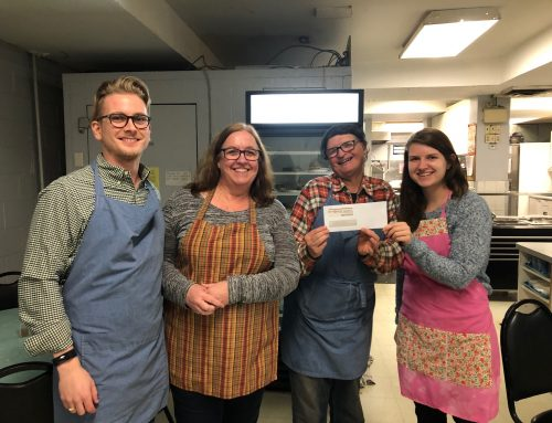 Predictive Success Cooks and Cleans Annual Meal at St. Vincent's Kitchen